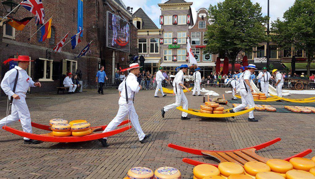 Koffie en kaas in Alkmaar