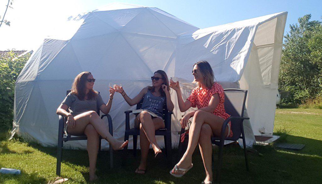 Luxe kamperen op Texel
