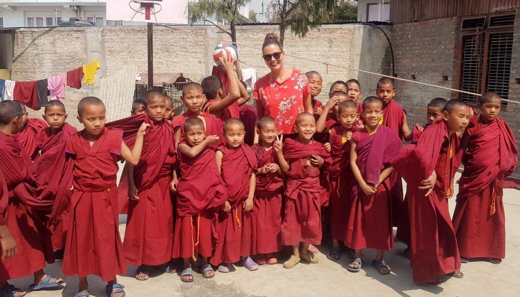'Vrijwilligerswerk in Nepal'