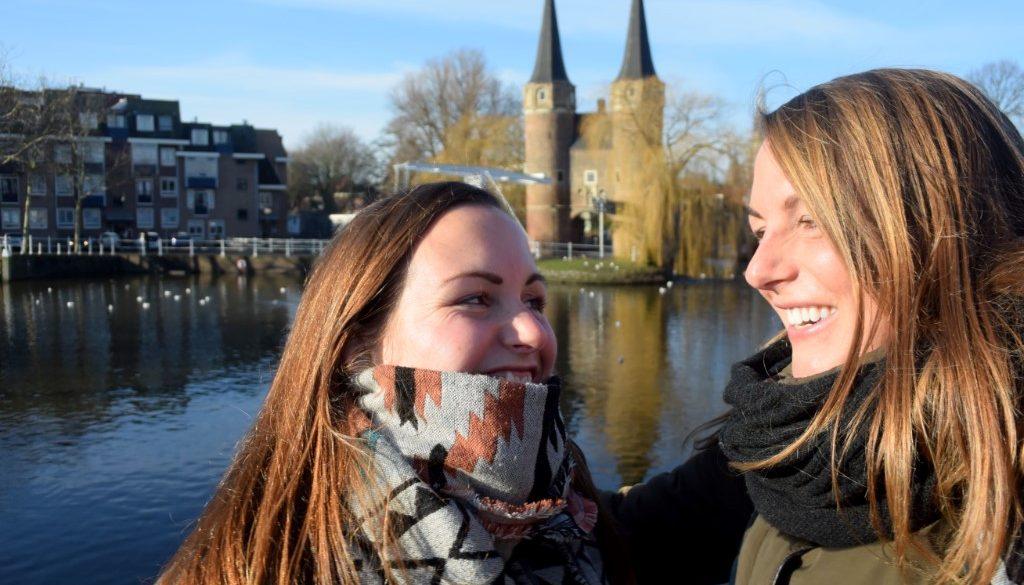 Delfts blauw in Delft