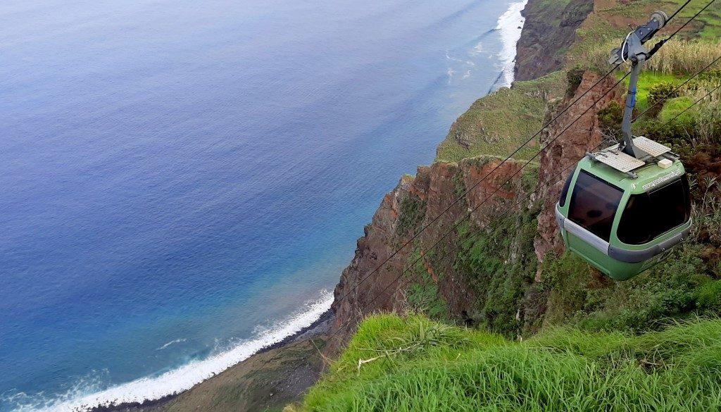 De 7 kabelbanen van Madeira