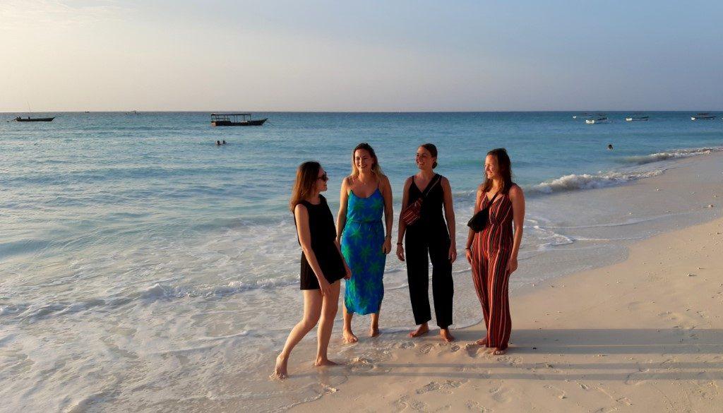 'Het paradijs op Zanzibar'