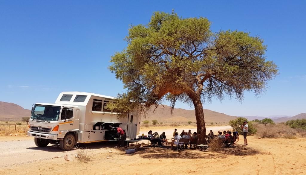 Avontuurlijke kampeerreis door Afrika