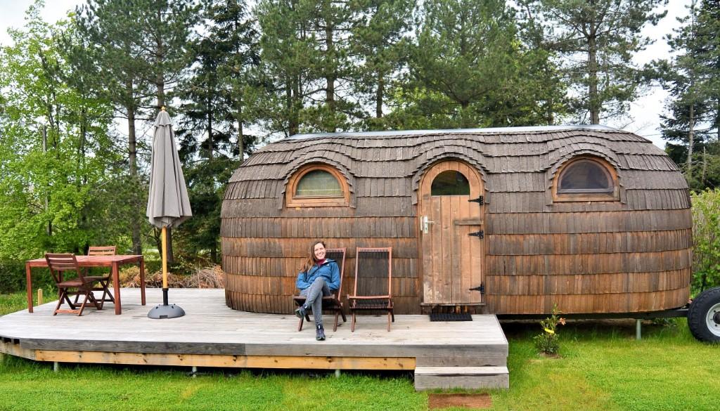 Slapen in een iglo in Oost-België