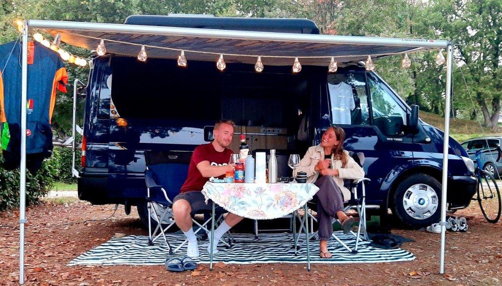 Reizen met een camperbusje
